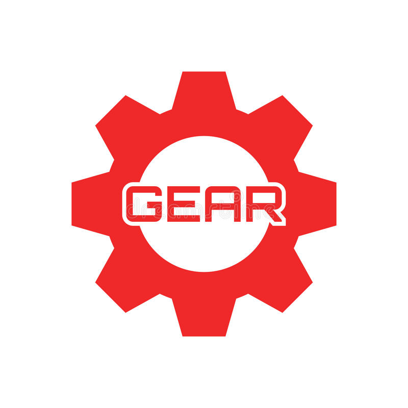 Gear logo template. Use for your brand, bussines, product, shop etc. You can add name/text even edit the logo vector illustration