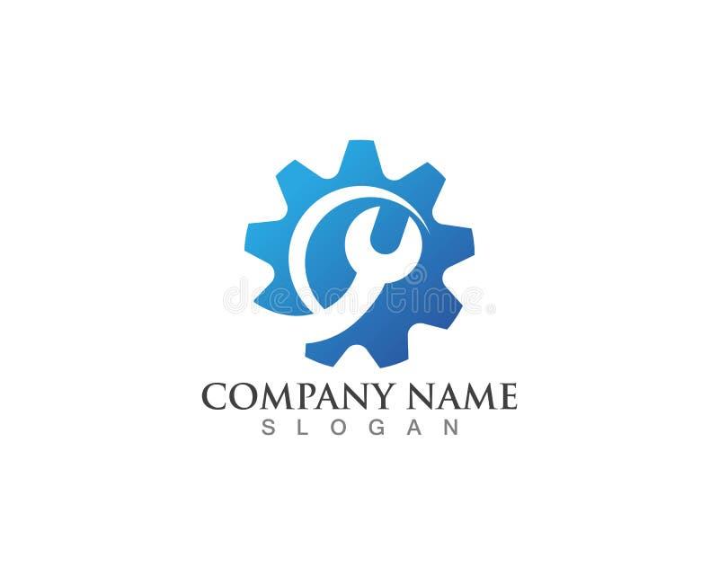 Gear Logo Template vector icon illustration design. Symbol, modern, technology, concept, wheel, mechanic, industry, business, element, circle, emblem vector illustration