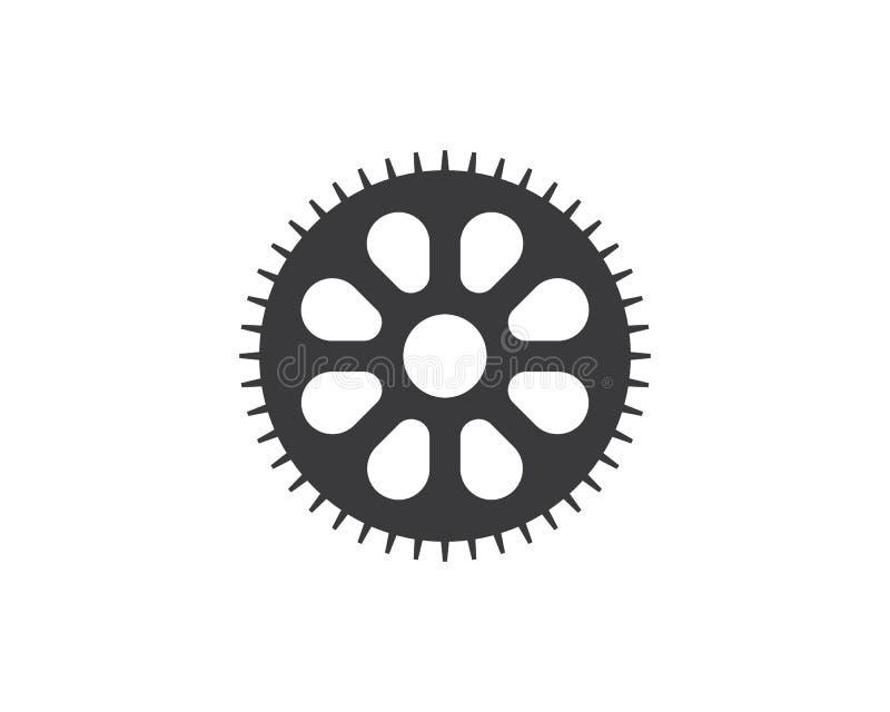 Gear Logo Template vector icon illustration vector illustration