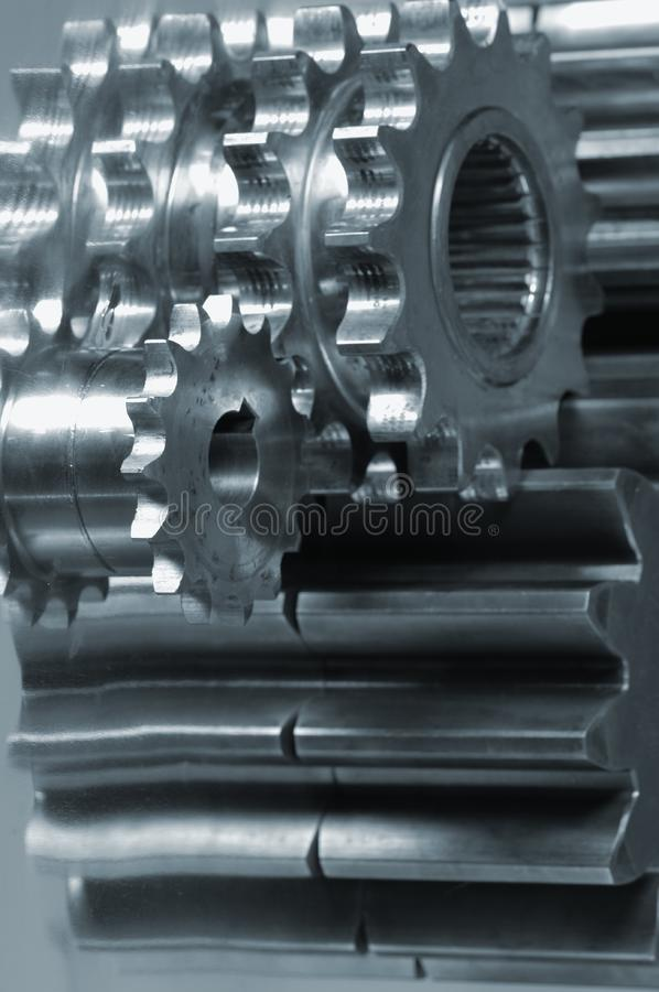 Gear machinery concept royalty free stock photo