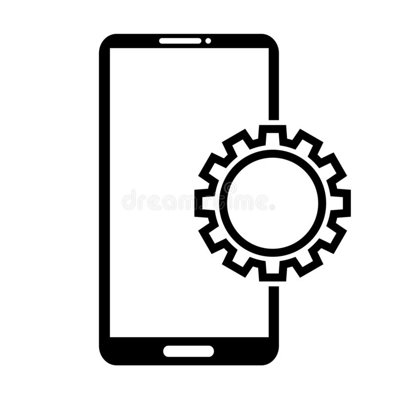 Gear machinery piece icon vector illustration graphic design royalty free illustration