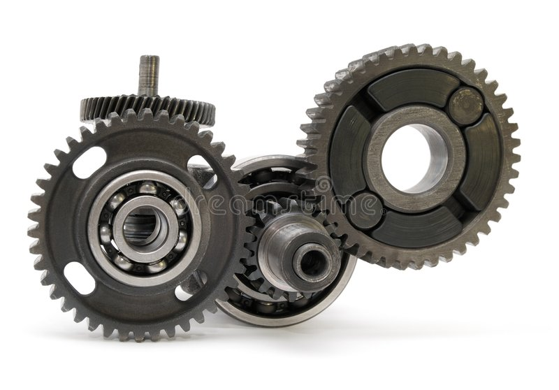 Gear mechanical stock photography