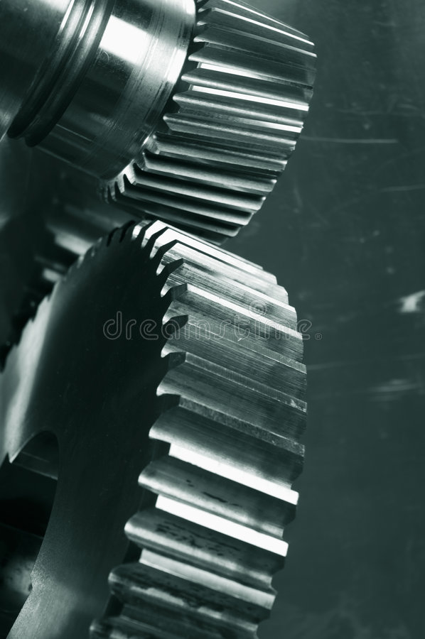 Download Gear Mechanics In Action Royalty Free Stock Images - Image: 2315679