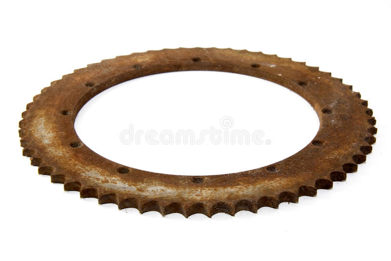 Gear rusty 2 stock image