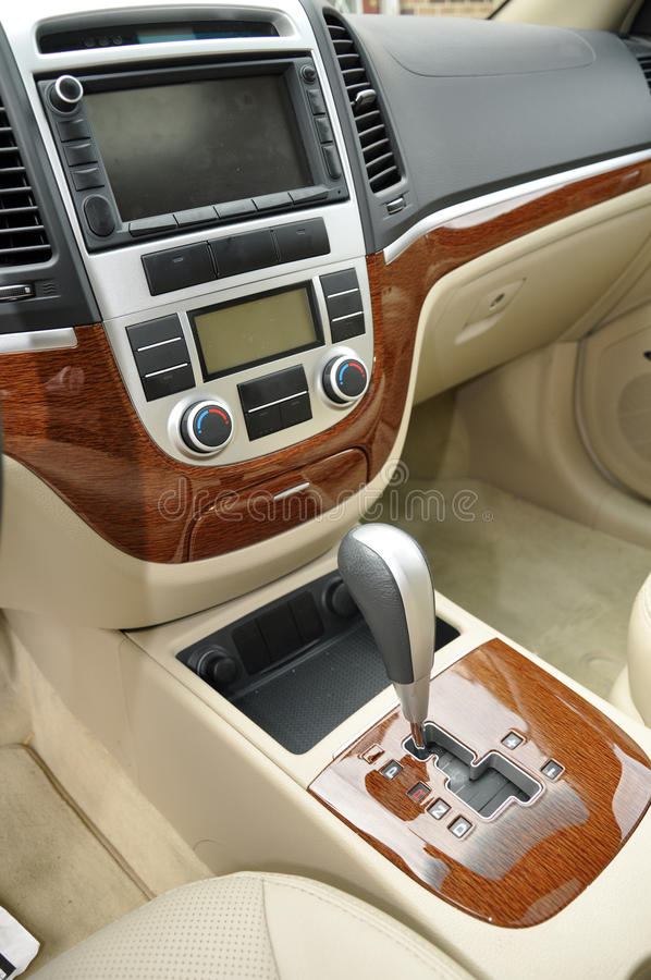 Download Gear Shift For Car Interior Stock Image - Image: 11826279