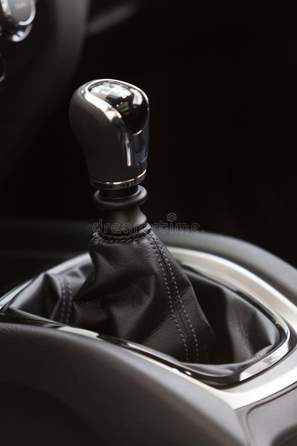 Gear shift handle stock photos