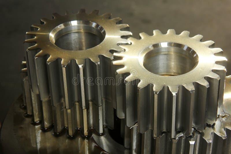 Gear Whee. Old rusty heavy industrial machine gear cogwheel stock photos
