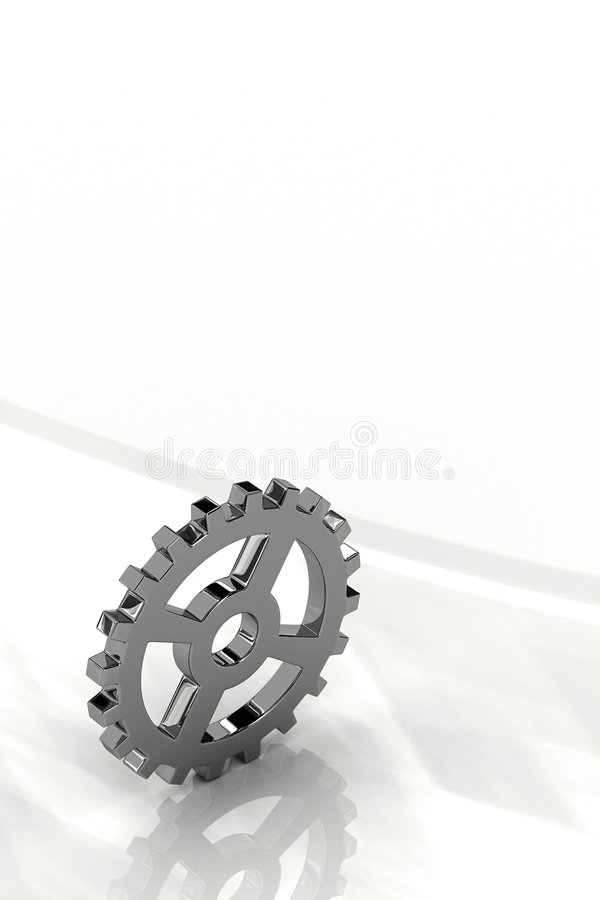Gear wheel royalty free illustration