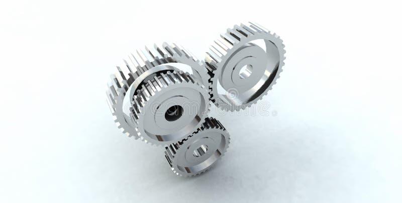 Gear wheel cog stock photography