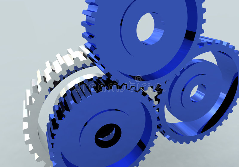 Gear Wheel Cog Royalty Free Stock Images