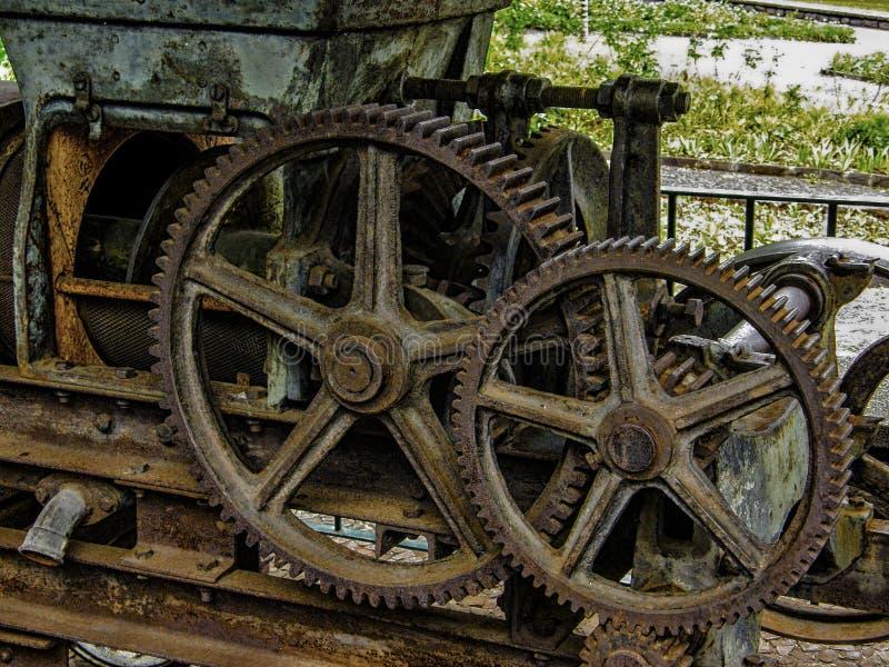 Gear wheels stock photography