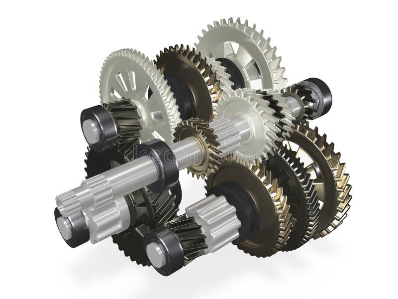 gearbox royalty ilustracja