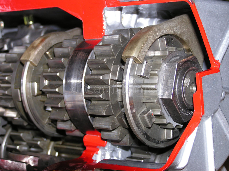 Download Gears #1 stock photo. Image of lubricated, mechanical, steel - 10246