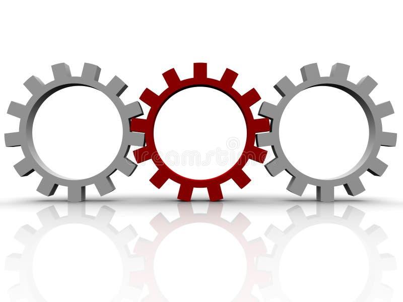 Download Gears stock illustration. Illustration of rotate, engineer - 10192694