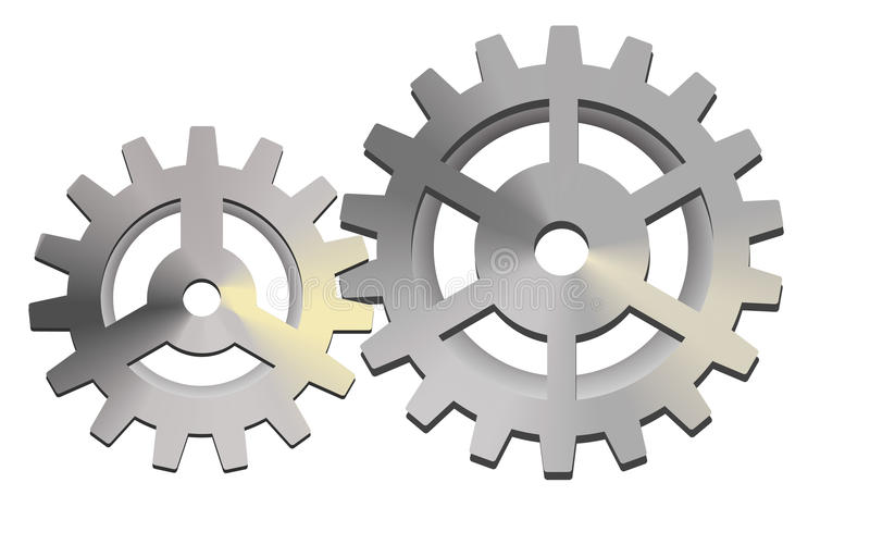 Download Gears stock vector. Image of industry, shiny, technical - 22137114