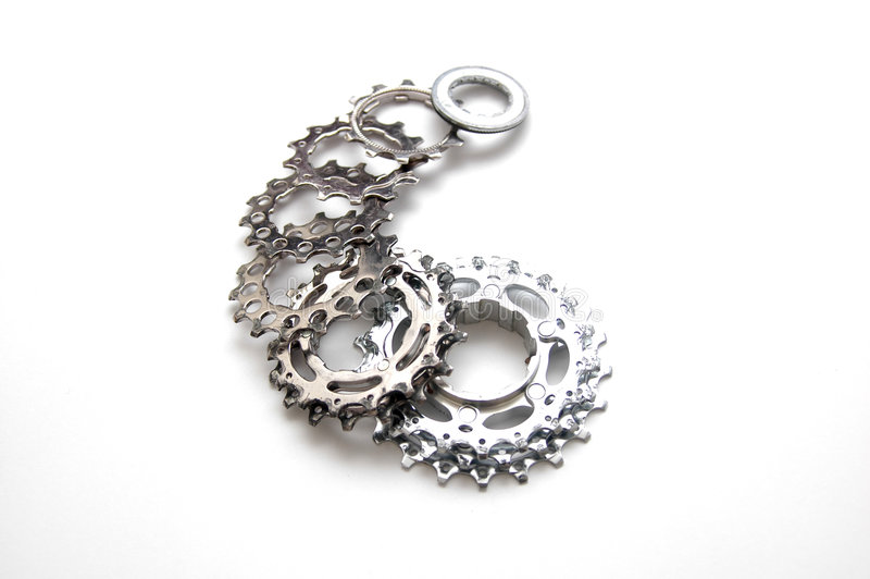 Download Gears stock image. Image of geared, instrument, gear, bike - 3930007