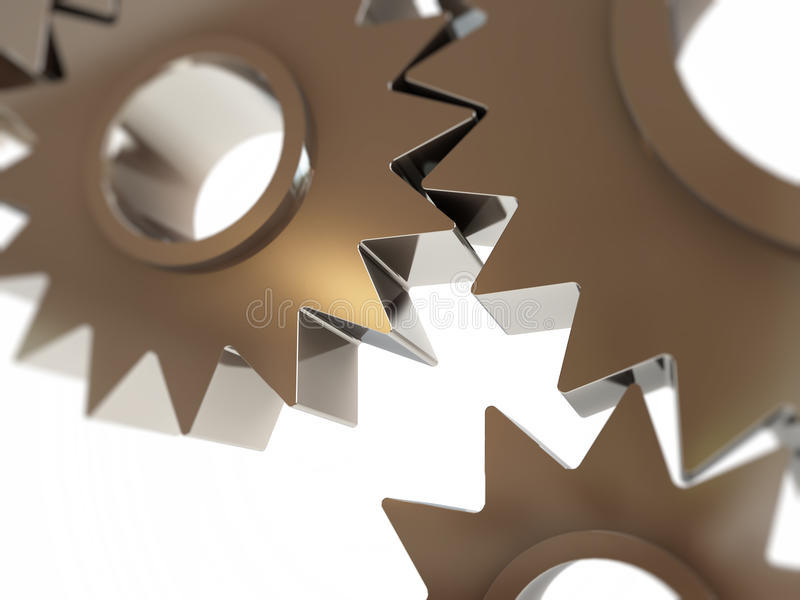 Download Gears abstract background stock illustration. Illustration of engine - 33065043