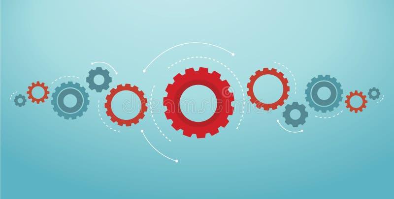 Gears background cog wheel vector illustration eps10.  royalty free illustration