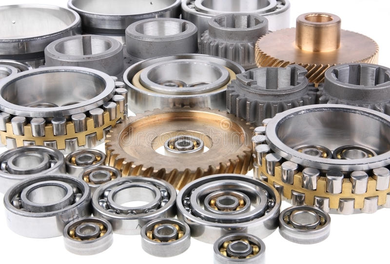 The gears and bearings royalty free stock photos