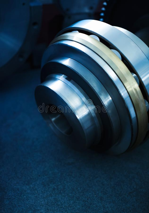 Bearings in the transmission. Gears and bearings in the transmission royalty free stock photography