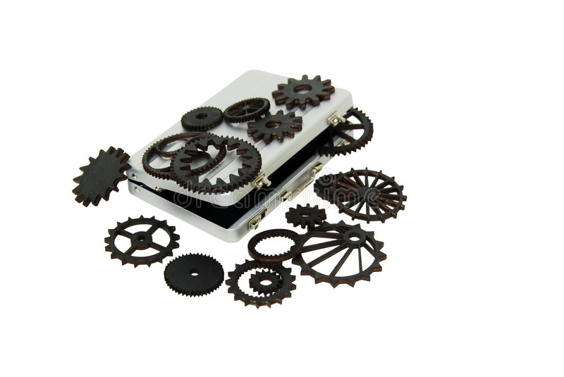 The gears of business royalty free stock photos