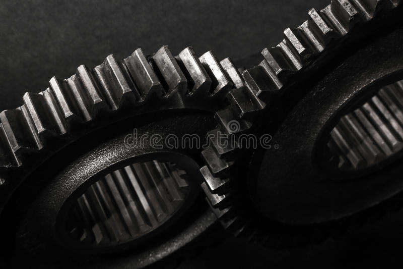 Download Gears and Cogs stock photo. Image of details, black, metal - 24583418