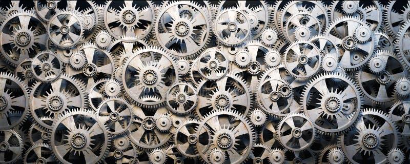 Gears and cogwheels stock photo