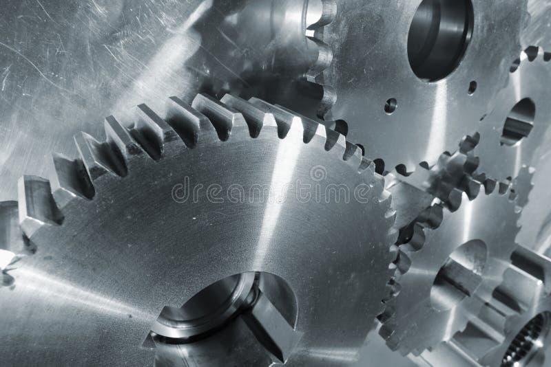 gears den nya ståltitaniumen arkivbild