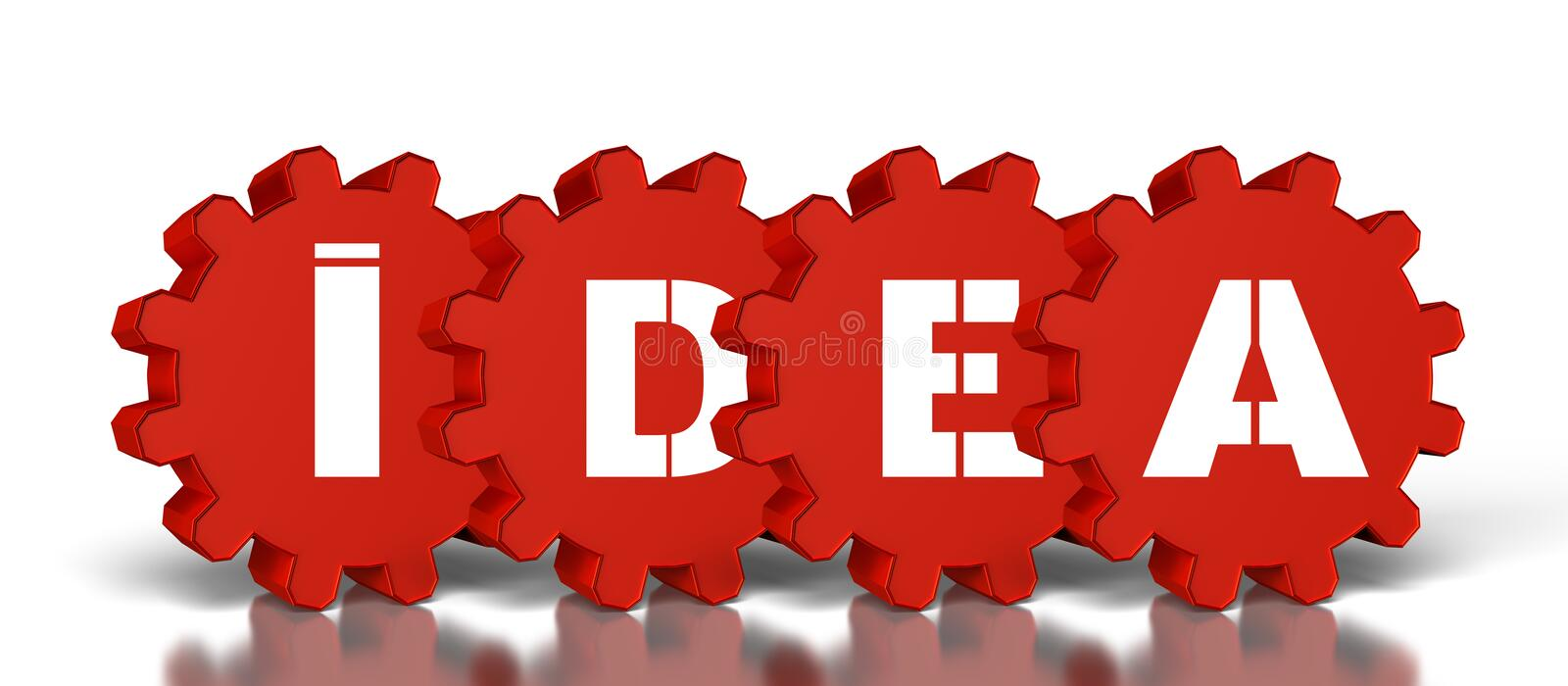 Download Gears With Idea Text Stock Illustration - Image: 39323980