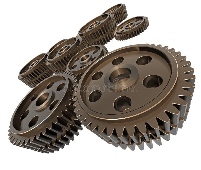 gears lott stock illustrationer