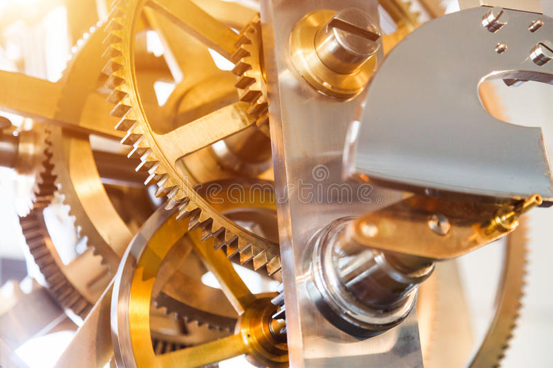 Download Gears stock image. Image of retro, antique, vintage, inside - 33582023