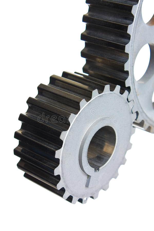 Gears Of Mechanisms Royalty Free Stock Photos