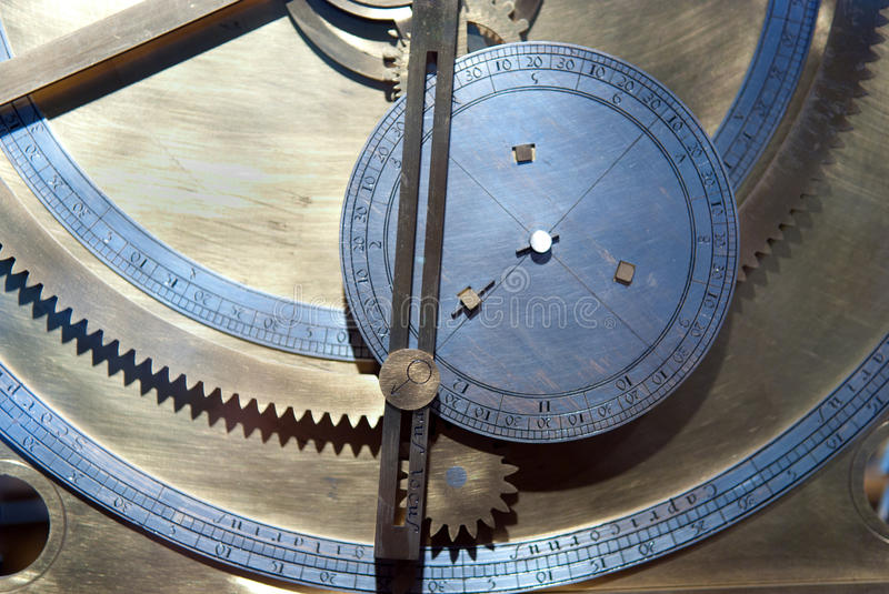 Download Gears From Old Clock Mechanism Stock Image - Image: 17202039
