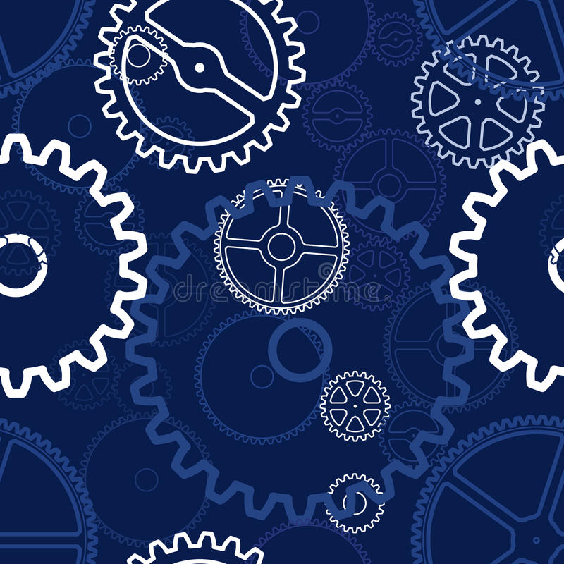 Download Gears pattern stock illustration. Image of connection - 18999728