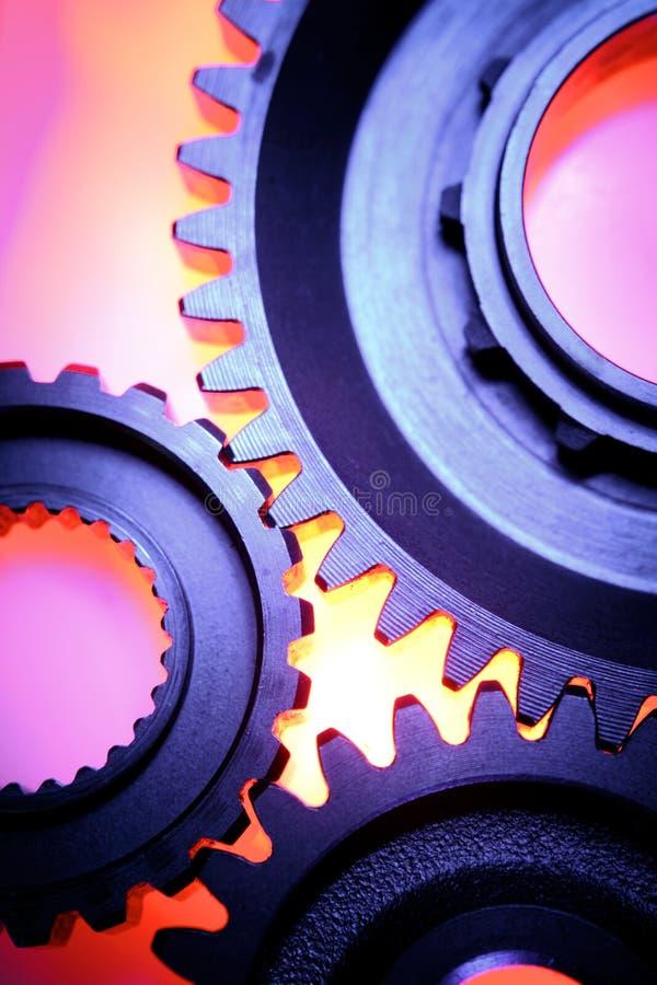 gears stål tre fotografering för bildbyråer