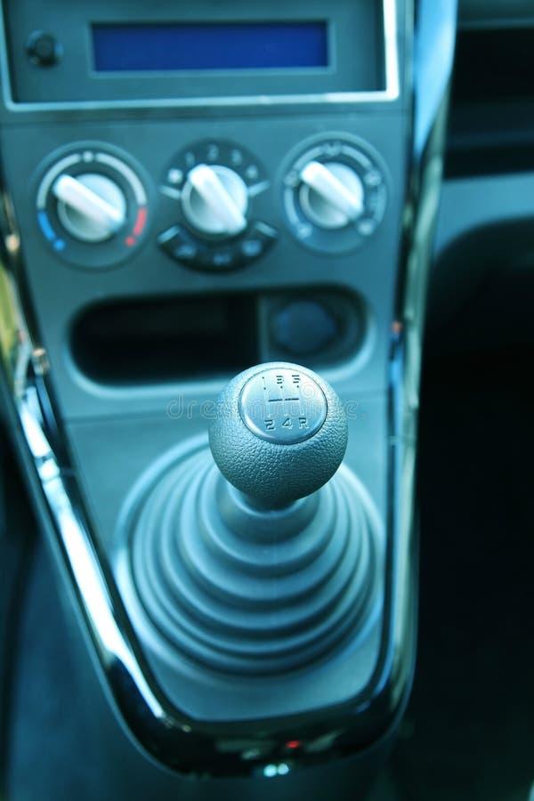 gearshift arkivbild