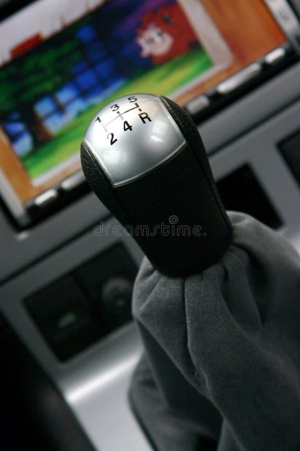 gearshift royaltyfri bild