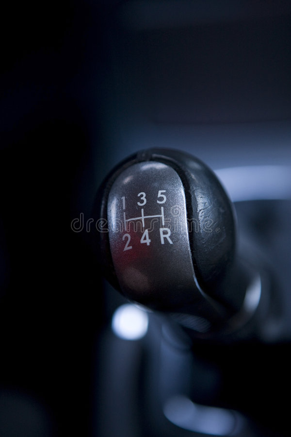 gearshift arkivfoton