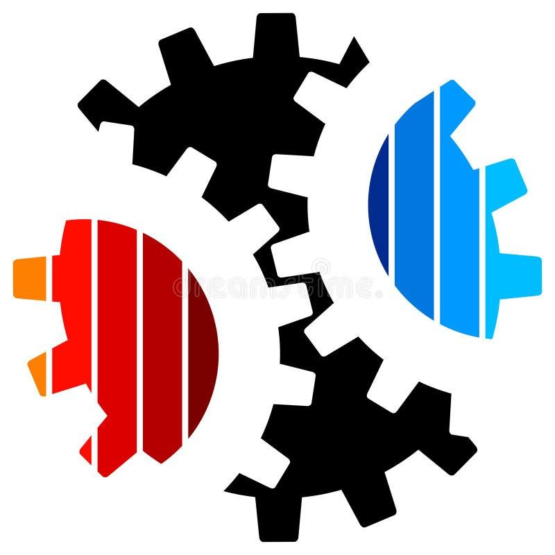 Download Gearwheel Logo Royalty Free Stock Photo - Image: 22675015
