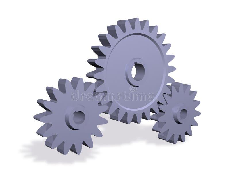 gearwheels ελεύθερη απεικόνιση δικαιώματος