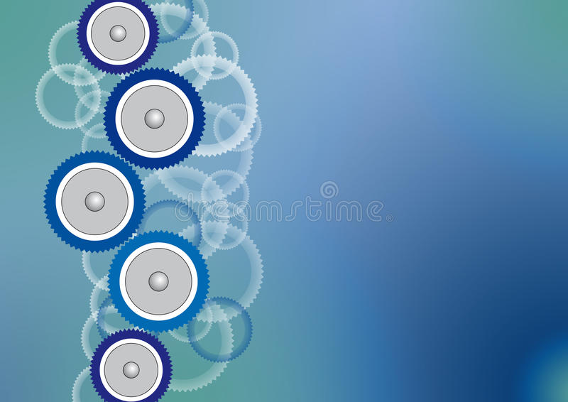 gearwheels ilustracja wektor