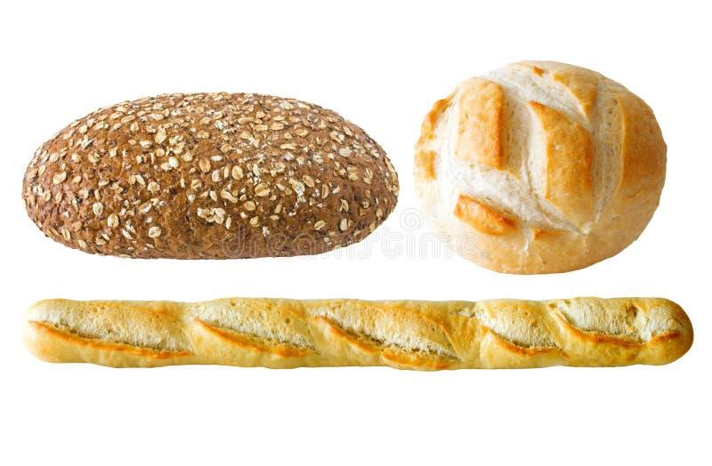 Geassorteerd brood stock afbeelding