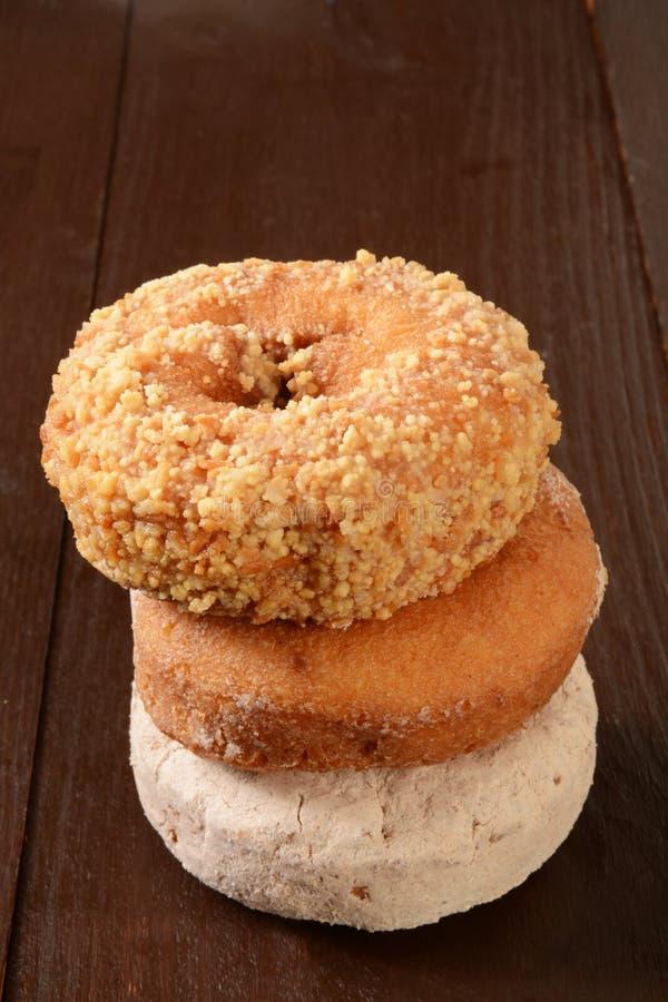 Geassorteerde Donuts royalty-vrije stock fotografie