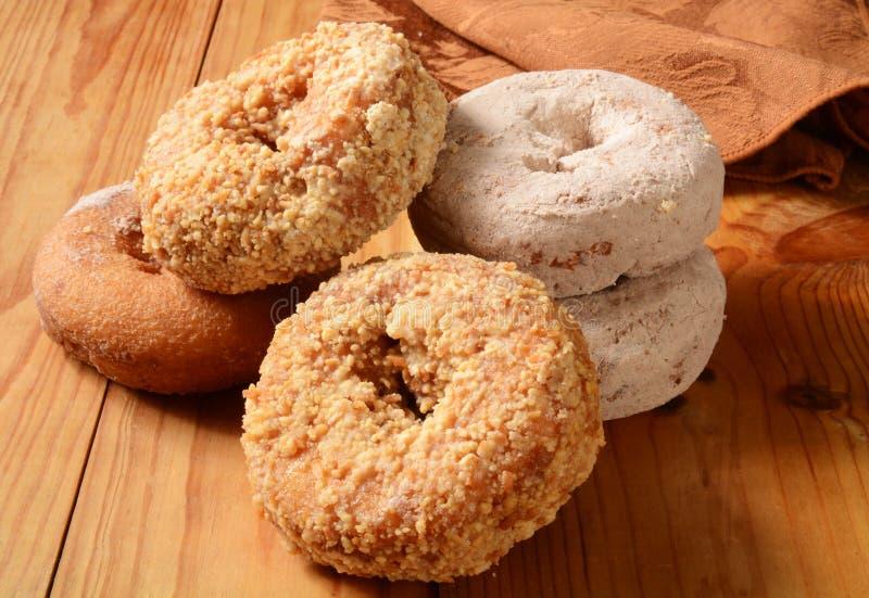 Geassorteerde Donuts stock afbeelding