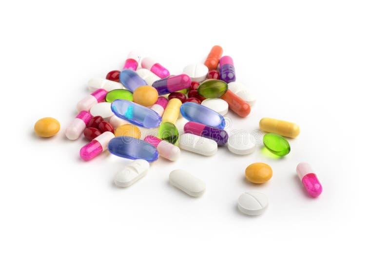 Geassorteerde drugs stock foto's
