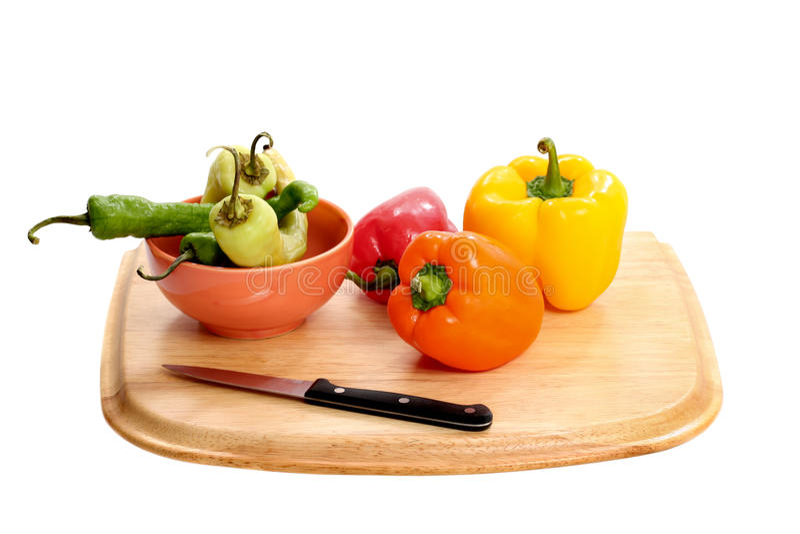 Geassorteerde groenten royalty-vrije stock foto's
