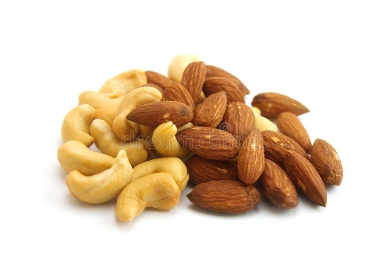 Geassorteerde noten stock foto