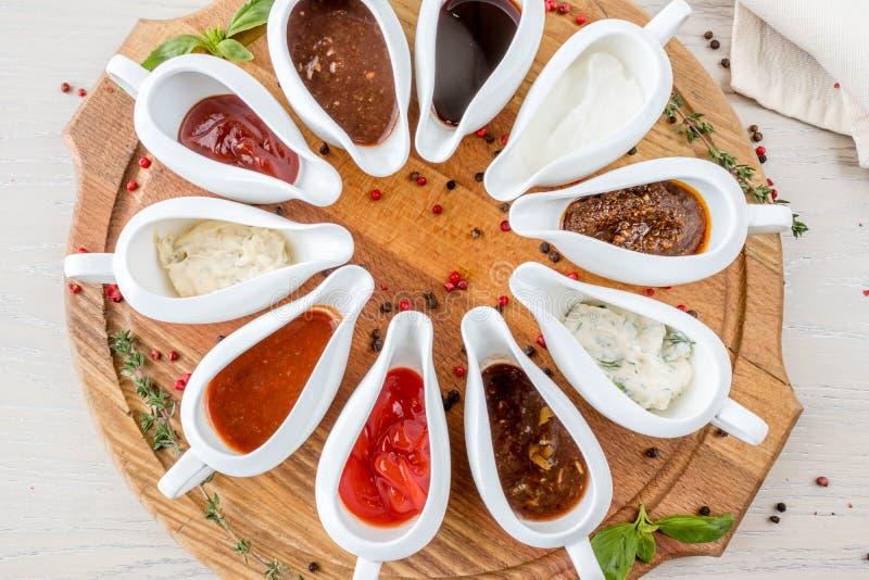 Geassorteerde sausen stock foto