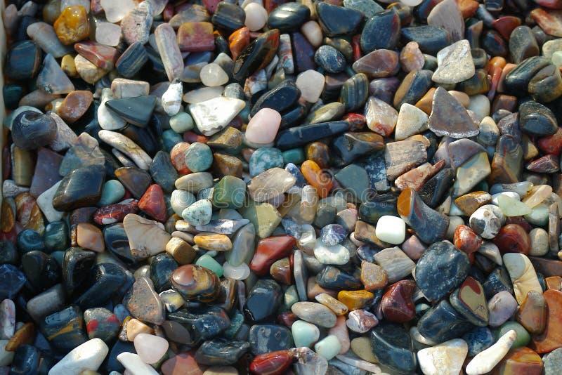 Geassorteerde stenen stock fotografie