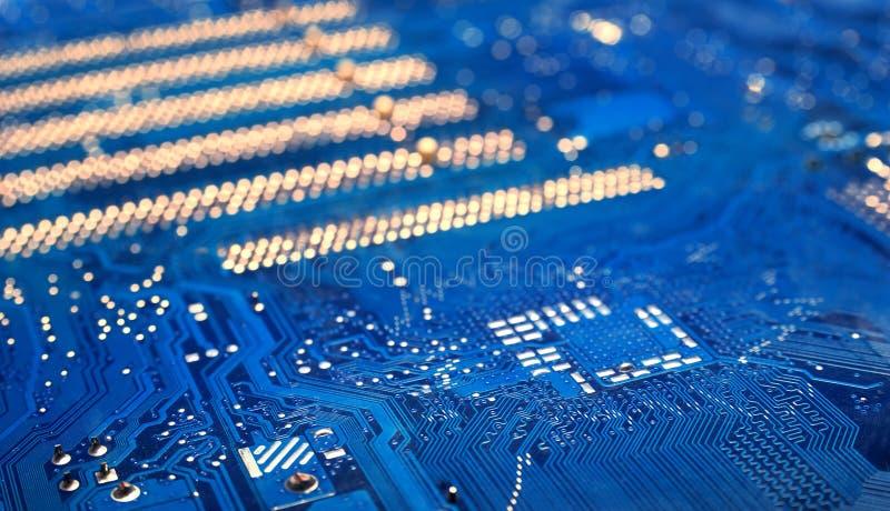 Geavanceerd technische techniekachtergrond stock foto